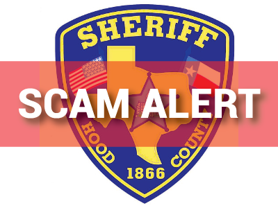 Hood County Scam Warning